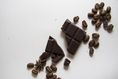 Coffee and choco background 03 Royalty Free Stock Photos