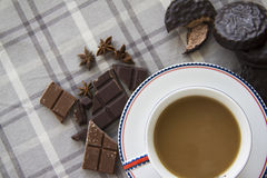 Coffee and choco background  20 Royalty Free Stock Photo