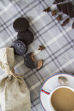 Coffee and choco background 07 Stock Photos