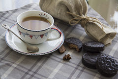 Coffee and choco background  12 Royalty Free Stock Photo