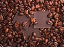 Coffee and chocolate Stock Photo