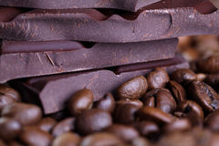 Coffee and Chocolate Royalty Free Stock Image