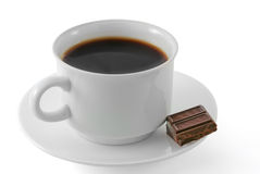 Coffee and chocolate Stock Photos