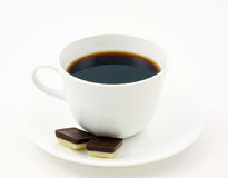 Coffee with chocolate Stock Image