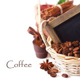 Coffee and chocolate. Royalty Free Stock Photo