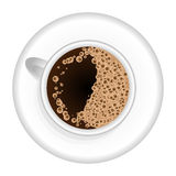 Coffee, chocolate, cocoa on the blackboard. Perfect for menu. Royalty Free Stock Photos