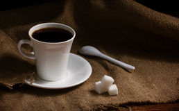 Coffee with  chocolate Stock Image