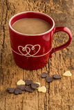 Coffee and chocolates Royalty Free Stock Image