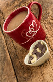 Coffee and chocolates Royalty Free Stock Photography