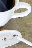 Coffee and cigarette Stock Photo