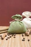 Coffee and cinnamon Stock Image