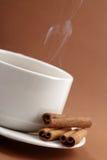 Coffee with cinnamon Royalty Free Stock Photos