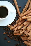 Coffee&cinnamon Stock Photos
