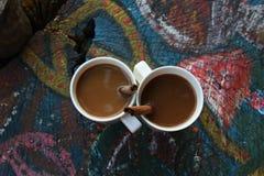 Coffee & Cinnamon. Delicious coffee with cinnamon on the Ton Say beach Stock Image