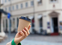 Coffee in the city Royalty Free Stock Photo