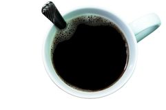 Coffee (with clipping path) Stock Photo