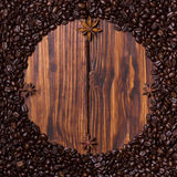 Coffee clock Royalty Free Stock Image