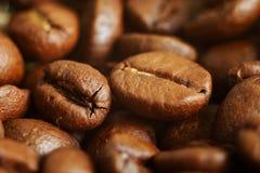 Coffee.close para arriba Fotografía de archivo