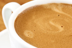 Coffee close-up Stock Photography