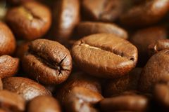 Coffee.close up Stock Photography