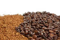 Coffee close-up Royalty Free Stock Photo