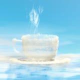 Coffee cloud. Royalty Free Stock Photo