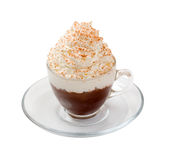 Coffee cocktail cup isolated stock photography