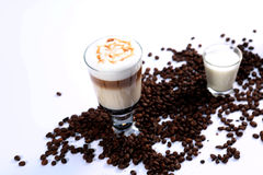 Coffee cocktails Royalty Free Stock Photography