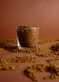 Coffee or cocoa royalty free stock photo