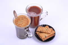 Coffee and cocoa Royalty Free Stock Photos
