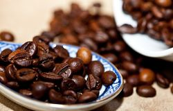 Coffee, Coffee Beans, Grain Coffee Royalty Free Stock Photo