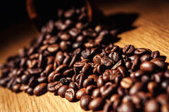 Coffee, coffee beans, roasted coffee, roasted coffee beans, coff Royalty Free Stock Image