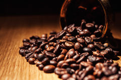 Coffee, coffee beans, roasted coffee, roasted coffee beans, coff Stock Photos