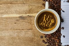 Coffee, Coffee Cup, Instant Coffee, Caffeine Royalty Free Stock Photography