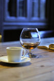Coffee and Cognac Royalty Free Stock Images