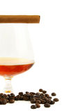 Coffee cognac and cigar Royalty Free Stock Image
