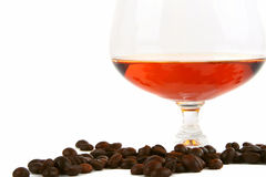 Coffee cognac and cigar Royalty Free Stock Photos