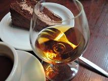 Coffee and cognac Stock Photo