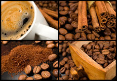 Coffee collection Stock Photos