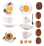 Coffee collection Royalty Free Stock Image