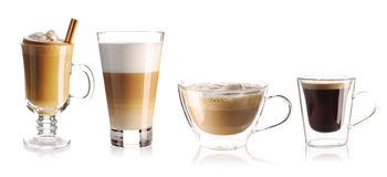 Coffee collection Stock Photography