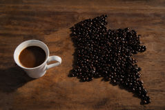 Coffee Colombia Royalty Free Stock Photo
