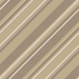 Coffee color striped backround seamless pattern. Vector illustration Royalty Free Stock Photos