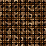 Coffee Colors Rings Diagram Seamless Pattern. Vector Illustration royalty free illustration