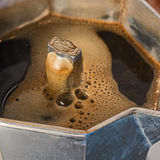 Coffee comes from mocha Royalty Free Stock Image