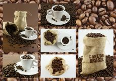 Coffee. Complete collection of coffee image Royalty Free Stock Photos