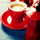 Coffee composition Royalty Free Stock Photo