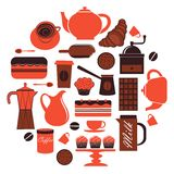 Coffee composition Royalty Free Stock Images