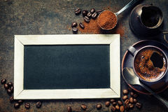 Coffee composition Stock Photography