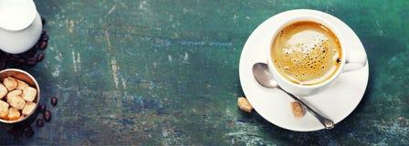 Coffee composition Stock Photos